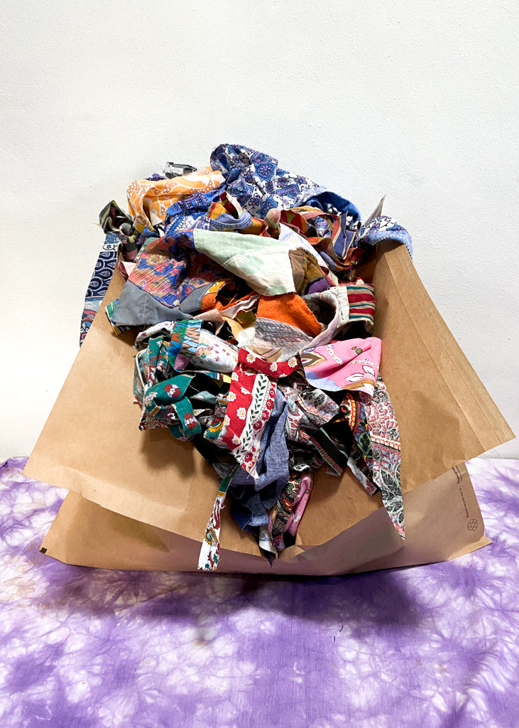 DESERT FOX Zero Waste Vintage Fabric Off-Cuts - 2kg
