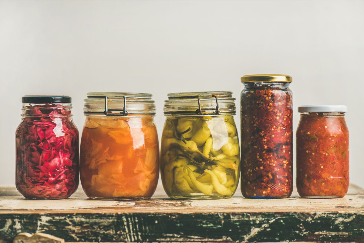 Eat fermented foods