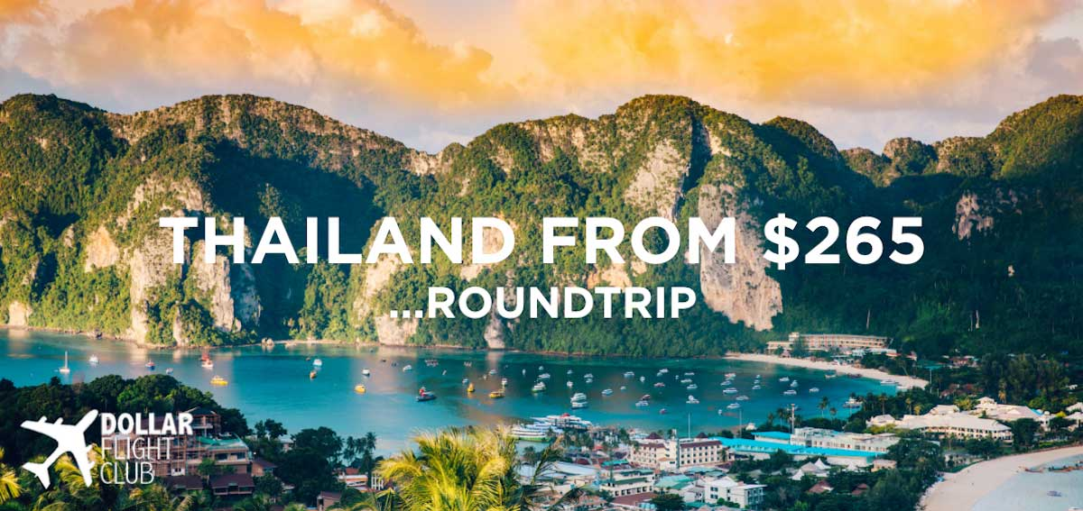 Dollar Flight Club Trip To Thailand