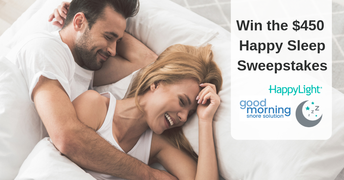 Verilux Happy Sleep Giveaway