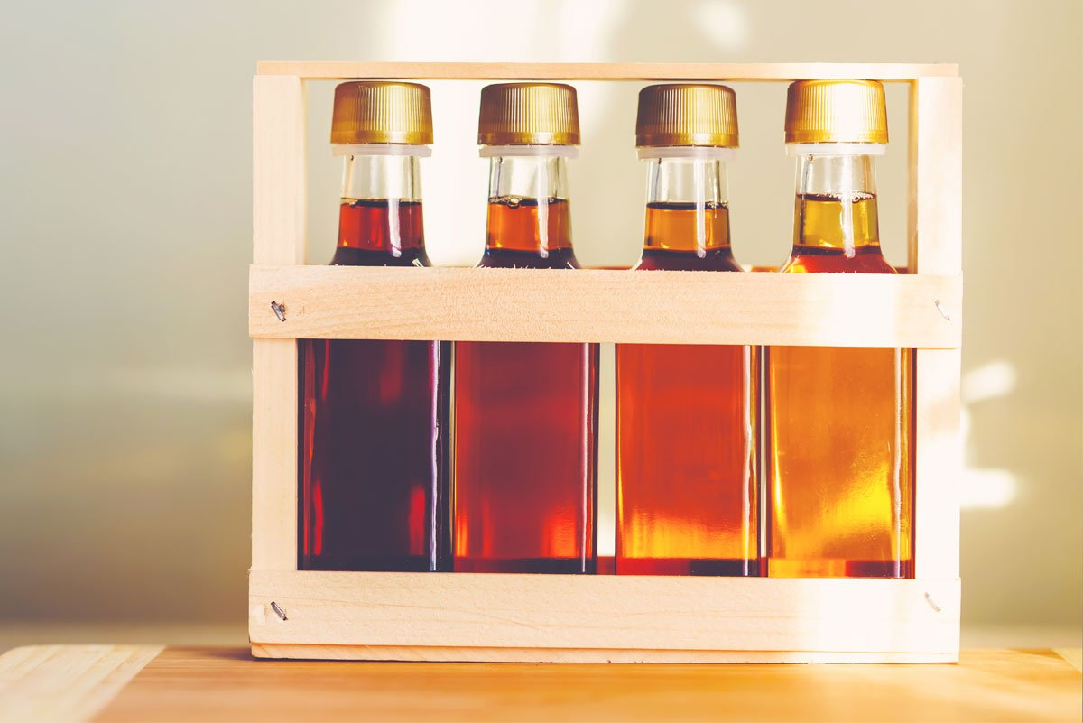 Try maple syrup instead of sugar as a sweetener if you live in a colder climate