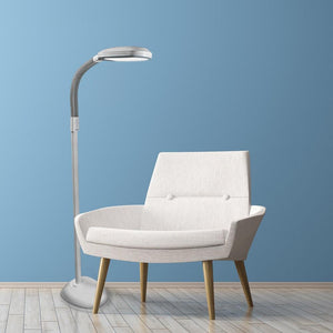 white led modern floor task light