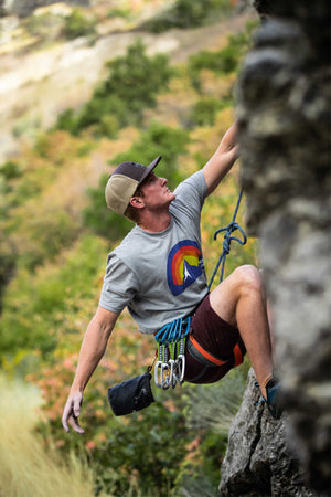 MTNLIFE Rock Climbing Nightfall shirt