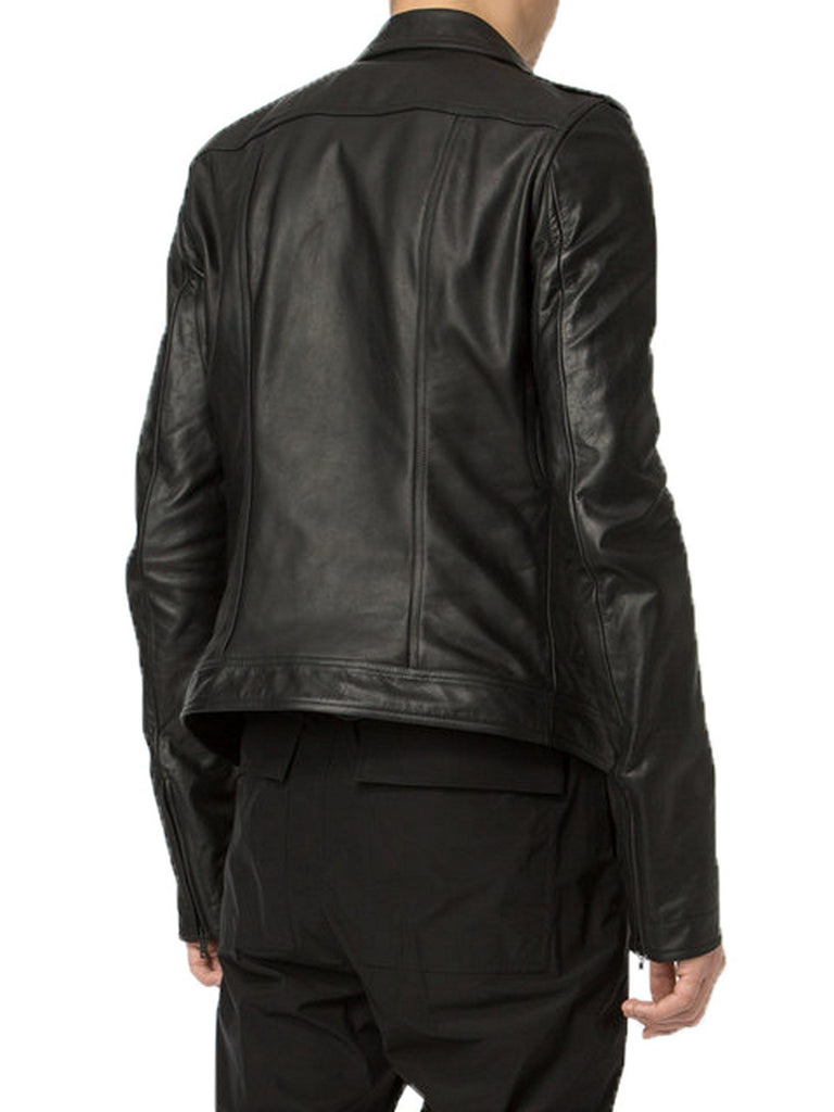Biker Jacket - Men Real Lambskin Motorcycle Leather Biker Jacket KM363 - Koza Leathers