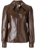 Biker / Motorcycle Jacket - Women Real Lambskin Leather Biker Jacket KW533 - Koza Leathers