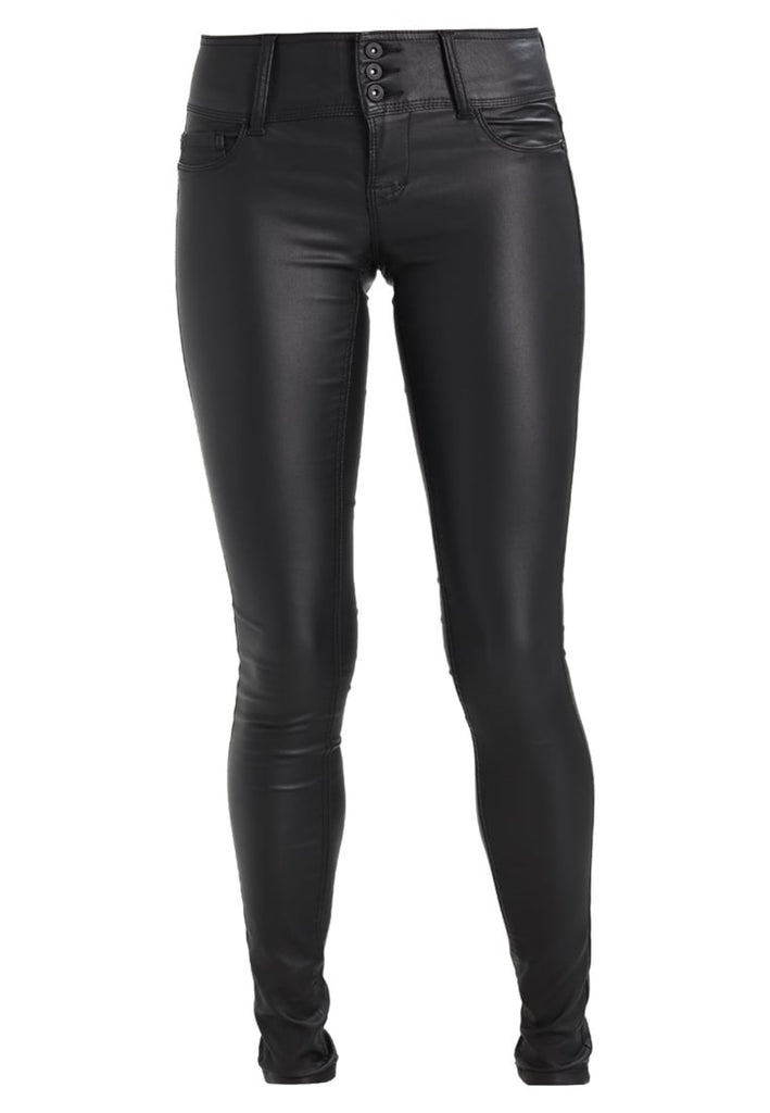 Koza Leathers Women's Real Lambskin Leather Skinny Pant WP100