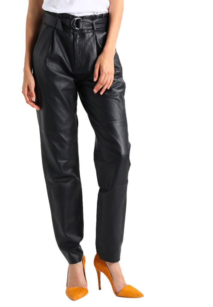 Koza Leathers Women's Real Lambskin Leather Pant WP102