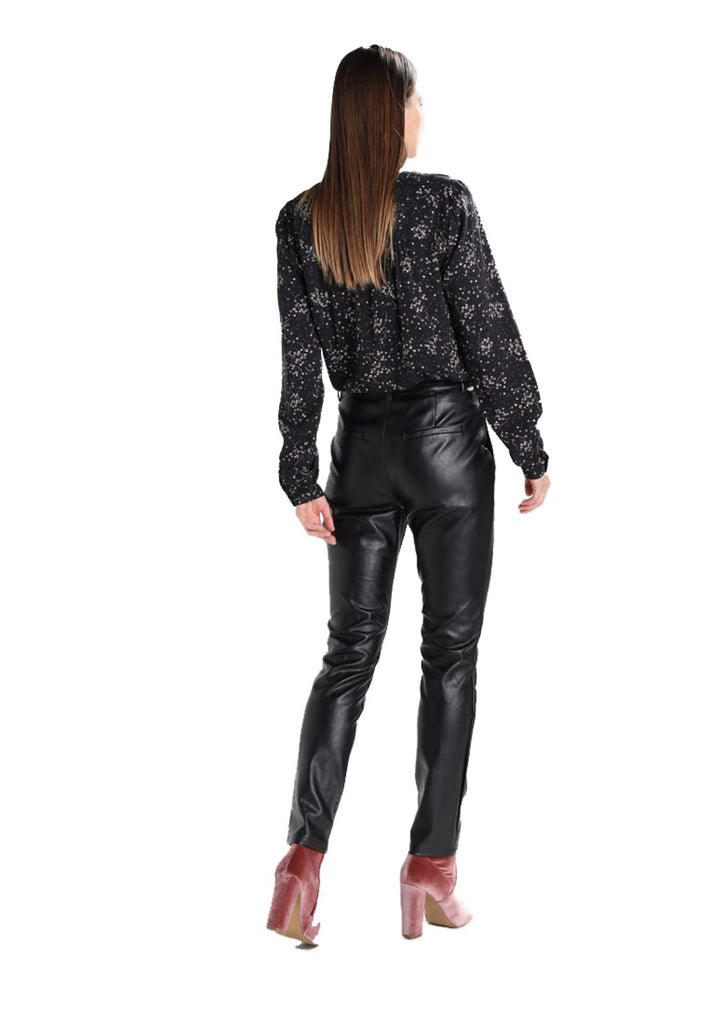 Koza Leathers Women's Real Lambskin Leather Skinny Pant WP103