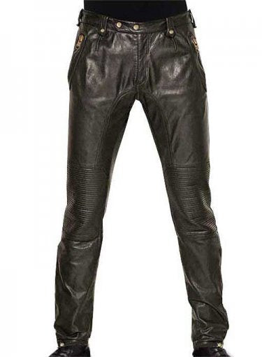 Koza Leathers Men's Real Lambskin Leather Pant MP007