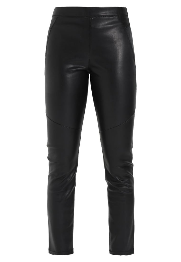 Koza Leathers Women's Real Lambskin Leather Capri Pant WP056