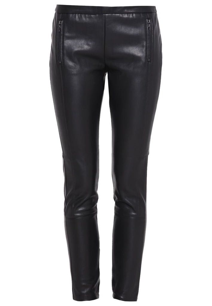 Koza Leathers Women's Real Lambskin Leather Skinny Pant WP113