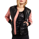 Biker / Motorcycle Jacket - Women Real Lambskin Leather Biker Jacket KW453 - Koza Leathers