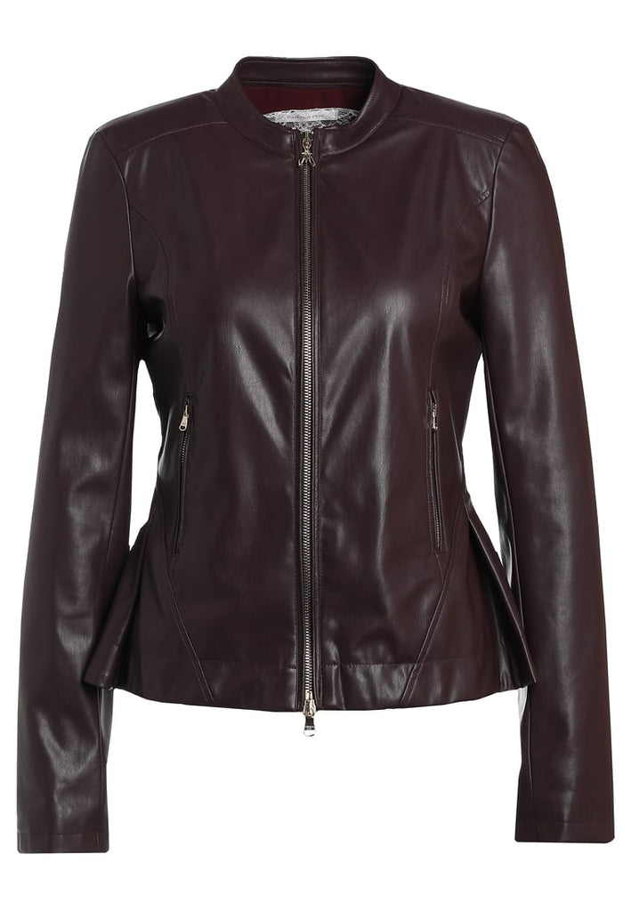 Biker / Motorcycle Jacket - Women Real Lambskin Leather Biker Jacket KW202 - Koza Leathers