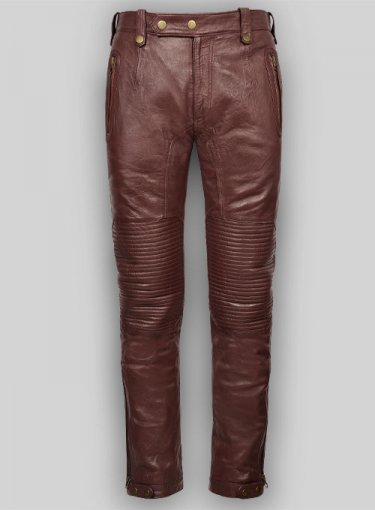 Koza Leathers Men's Real Lambskin Leather Pant MP008