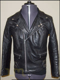 Biker Jacket - Men Real Lambskin Leather Jacket KM111 - Koza Leathers