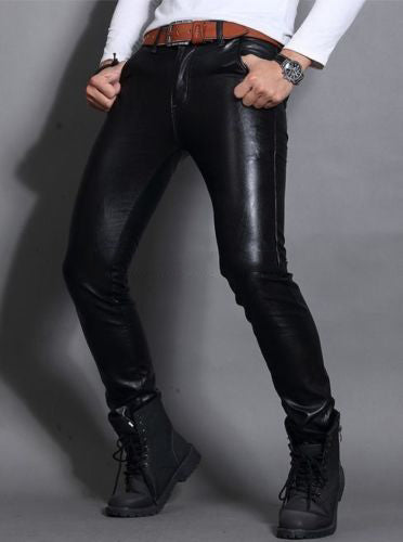 Koza Leathers Men's Real Lambskin Leather Pant MP033