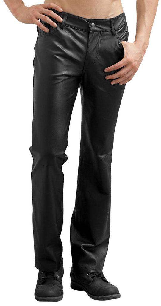 Koza Leathers Men's Real Lambskin Leather Pant MP035