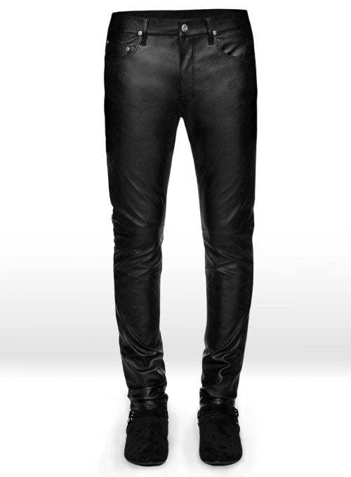 Koza Leathers Men's Real Lambskin Leather Pant MP002