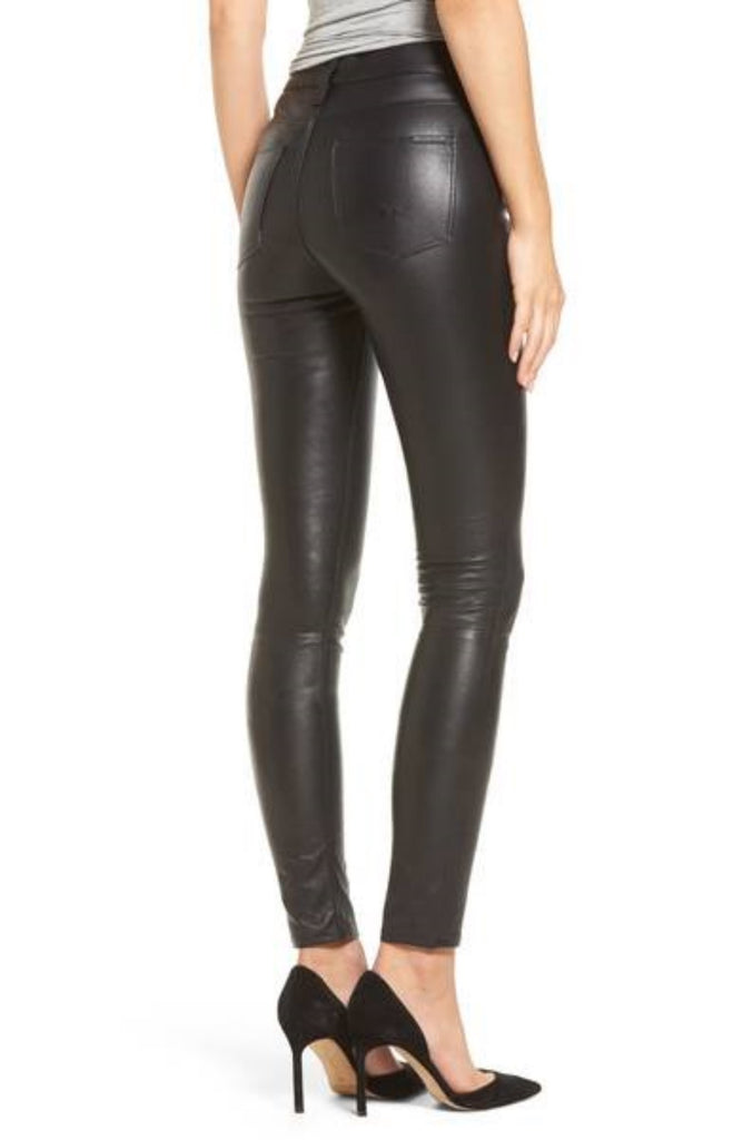 Koza Leathers Women's Real Lambskin Leather Skinny Pant WP062
