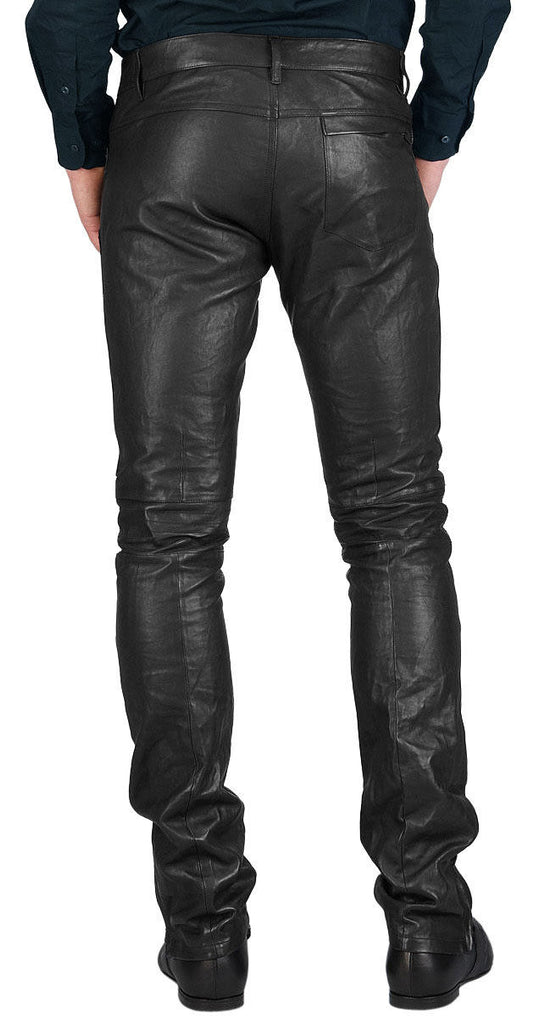 Koza Leathers Men's Real Lambskin Leather Pant MP040