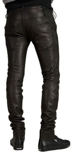 Koza Leathers Men's Real Lambskin Leather Pant MP043