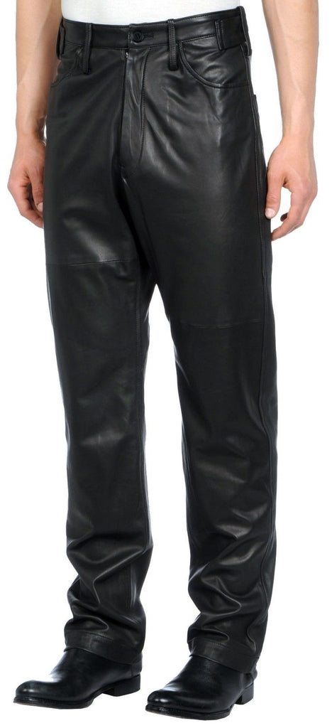 Koza Leathers Men's Real Lambskin Leather Pant MP046