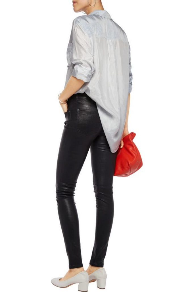 Koza Leathers Women's Real Lambskin Leather Skinny Pant WP072