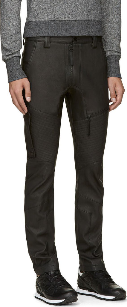 Koza Leathers Men's Real Lambskin Leather Pant MP048