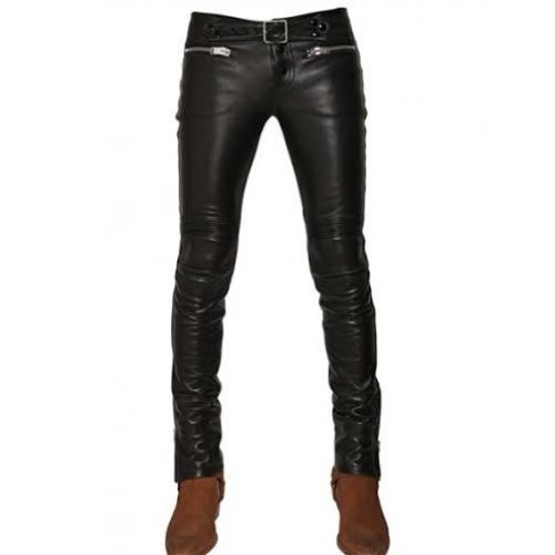 Koza Leathers Men's Real Lambskin Leather Pant MP049