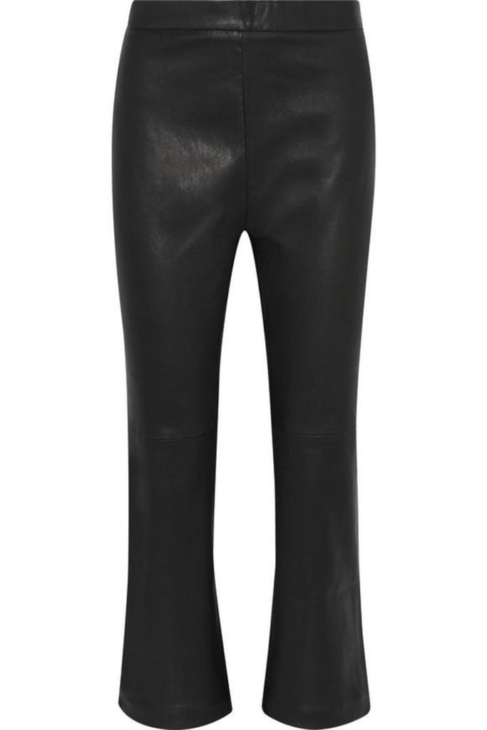 Koza Leathers Women's Real Lambskin Leather Capri Pant WP026