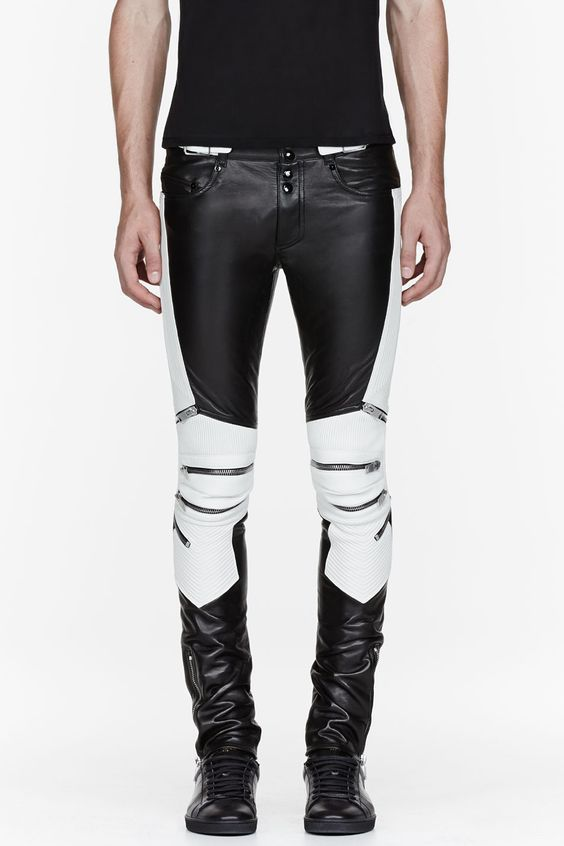 Koza Leathers Men's Real Lambskin Leather Pant MP050