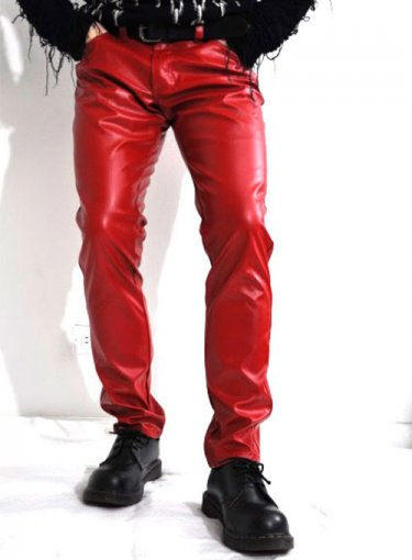 Koza Leathers Men's Real Lambskin Leather Pant MP004