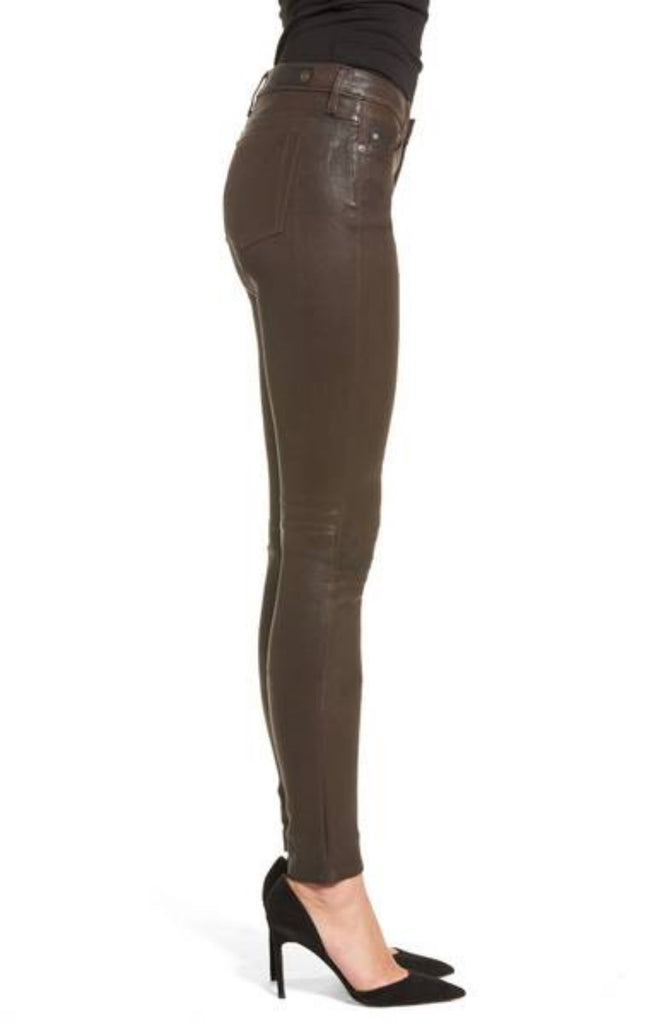 Koza Leathers Women's Real Lambskin Leather Pant WP004