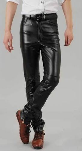 Koza Leathers Men's Real Lambskin Leather Pant MP056