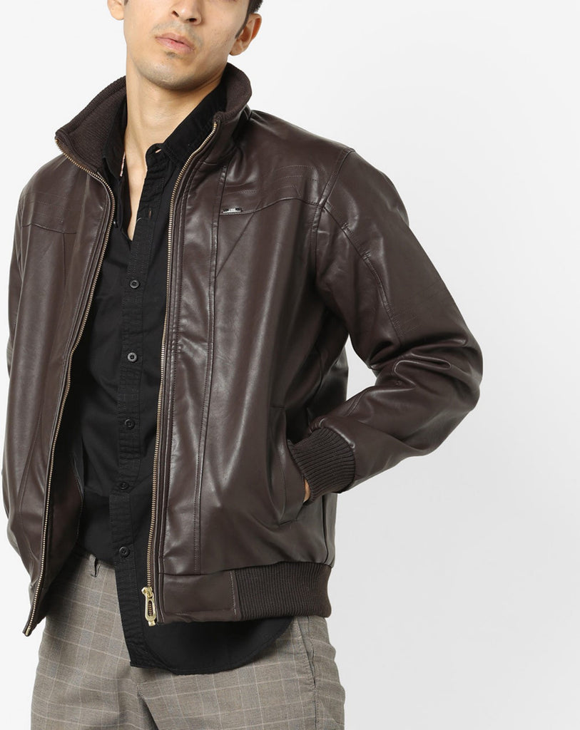 Biker Jacket - Men Real Lambskin Motorcycle Leather Biker Jacket KM662 - Koza Leathers
