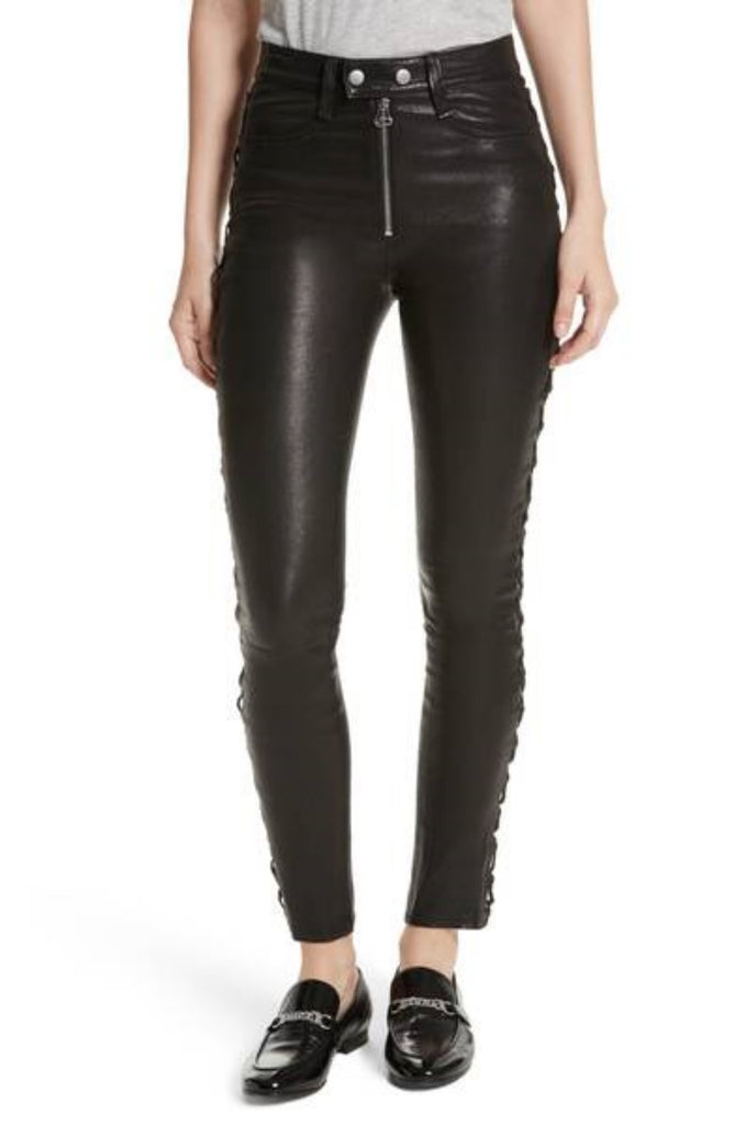 Koza Leathers Women's Real Lambskin Leather Pant WP006