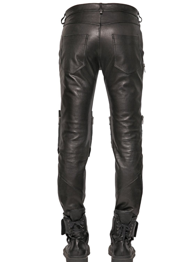 Koza Leathers Men's Real Lambskin Leather Pant MP019