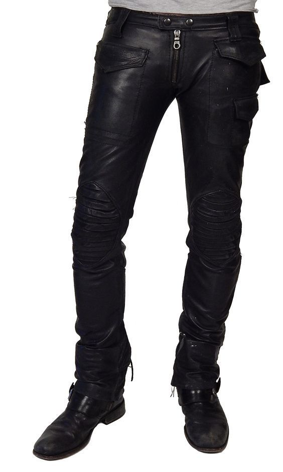 Koza Leathers Men's Real Lambskin Leather Pant MP058