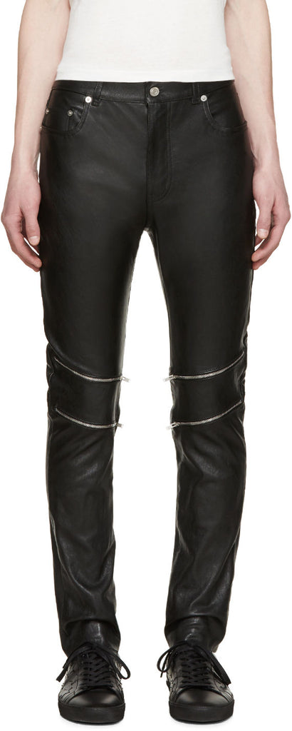 Koza Leathers Men's Real Lambskin Leather Pant MP061