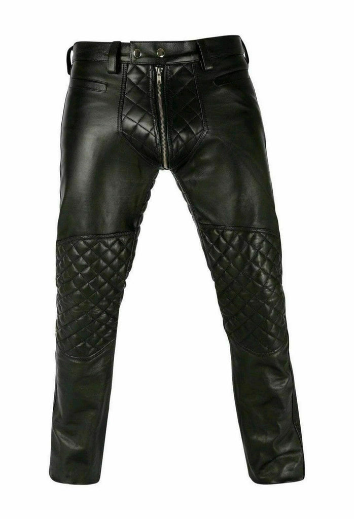 Koza Leathers Men's Real Lambskin Leather Pant MP020