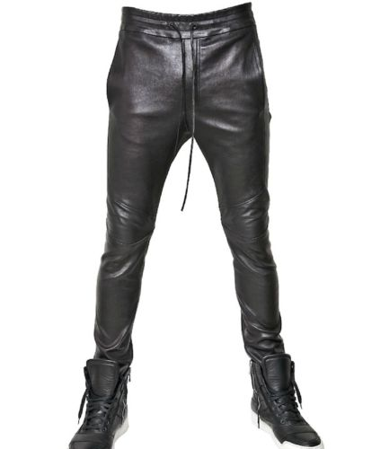 Koza Leathers Men's Real Lambskin Leather Pant MP065