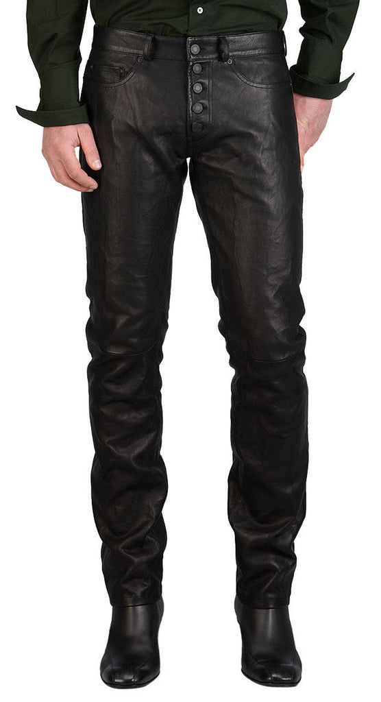 Koza Leathers Men's Real Lambskin Leather Pant MP069