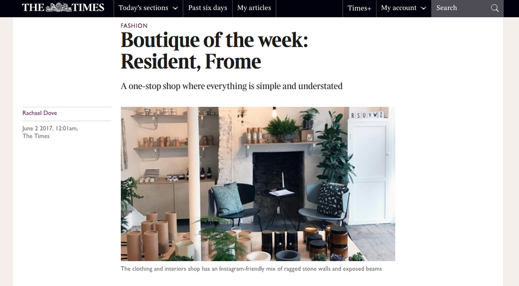 The Times Boutique of The Week