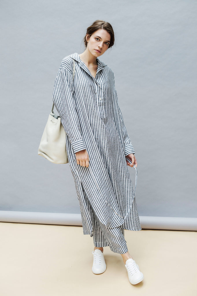 East by East West Striped Linen