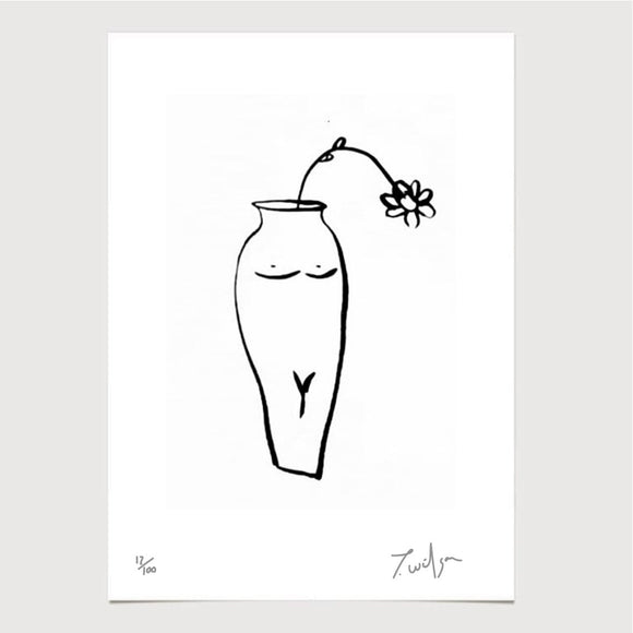 Art - James Wilson 'Ceramic Femme' Print