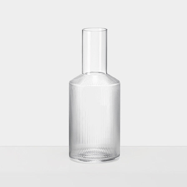 Glassware - Ferm Living Ripple Carafe