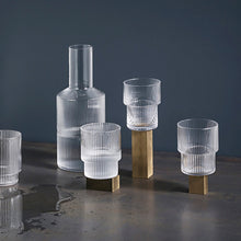 Load image into Gallery viewer, Glassware - Ferm Living Ripple Carafe