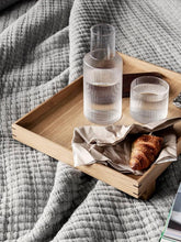 Load image into Gallery viewer, Glassware - Ferm Living Small Ripple Carafe Set