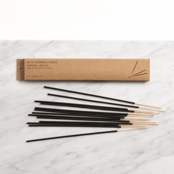 Home Fragrance - P.F. Candle Co. Teakwood & Tobacco Incense Sticks