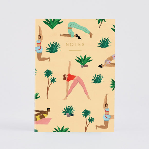 Notebook - Wrap Yoga Notebook A5